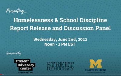 Homelessness Should be Part of the School Discipline Reform Conversation